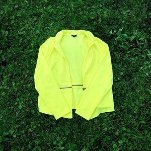 Mossimo Supply Co Zippered Blazer Jacket